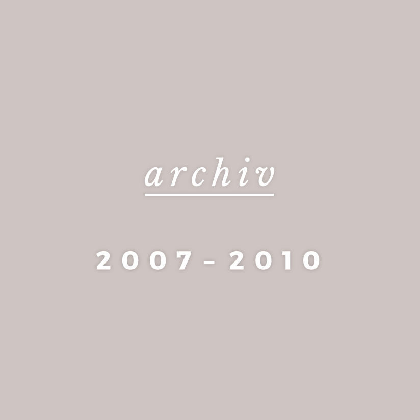 Archiv 2007-2010